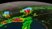 File:Tropical Storm Bill Over Texas.webm