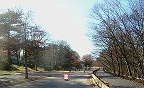 Der Truman Parkway in Boston