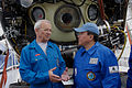 Tsakhiagiin Elbegdorj and Slipenchuk in front of submersible.jpg