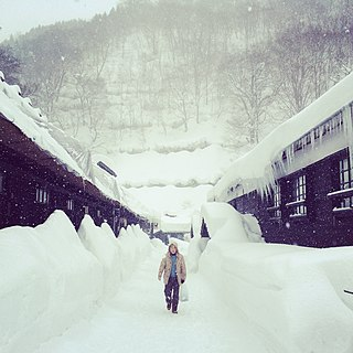 Nyūtō Onsen Hot springs resort in Akita Prefecture, Japan