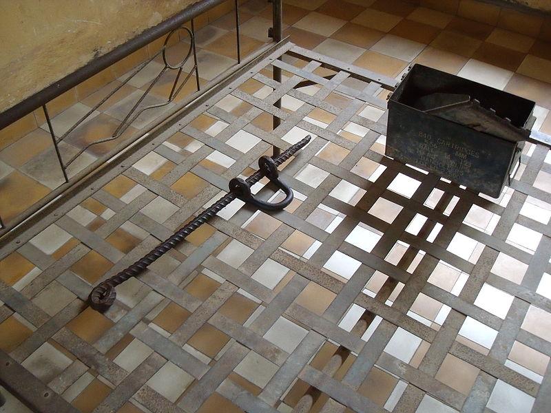 File:Tuol Sleng - Bed 2.jpg