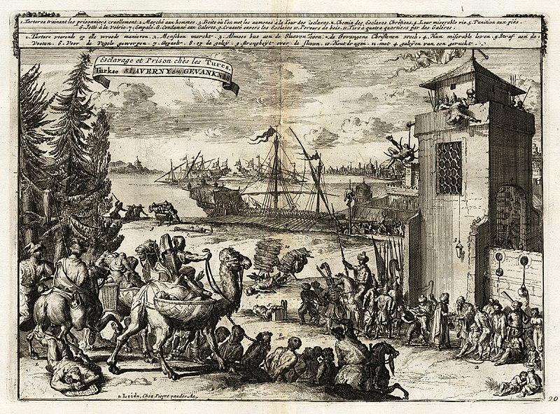 File:Turkish use of slaves to row galleys.jpg