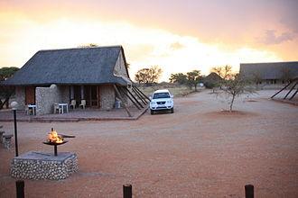 Kgalagadi Transfrontier Park - Twee Rivieren camp