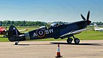 Two seater Spitfire Mk.IX, Imperial War Museum, Duxford, May 19th 2018. (41340731595).jpg