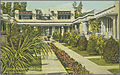 Type of Bungalow Court Popular in Los Angeles, Calif. The little homes have a beautiful Community Front Yard. (pcard-print-pub-pc-65a).jpg