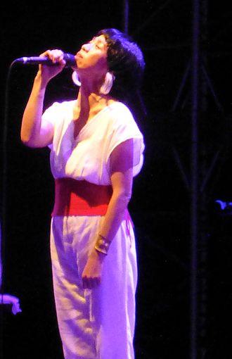 Ua (singer) - Image: UA live a aug 13 2016