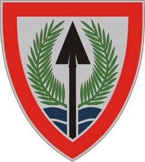 Multi-National Corps – Iraq - Image: USAE Multi Natl Corps Iraq DUI