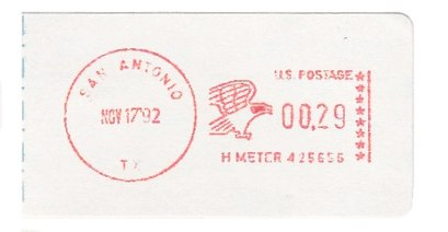 United States Postage Meter Stamp Catalog/GROUP PV – Self