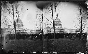 40th United States Congress - Image: US Capitol 1877