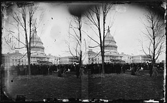 46th United States Congress - Image: US Capitol 1877