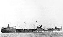 USS Escalante (AO-70) at anchor c1945.jpg