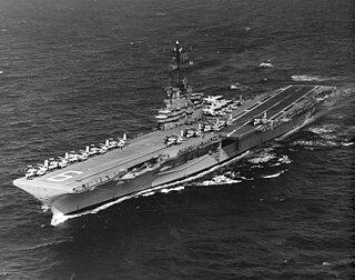 USS <i>Essex</i> (CV-9) Essex-class aircraft carrier of the US Navy