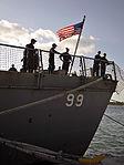 USS Farragut arrives at Mole Pier 140505-N-YB753-154.jpg
