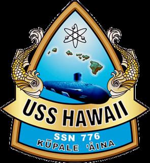 USS <i>Hawaii</i> (SSN-776) US Navy Virginia-class submarine