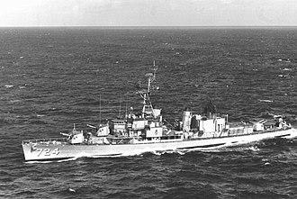 USS Laffey (DD-724) - Image: USS Laffey DD 724