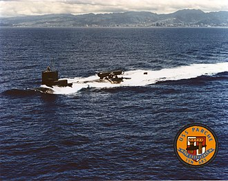 USS Parche (SSN-683) - Image: USS Parche (SSN 683) off Pearl Harbor