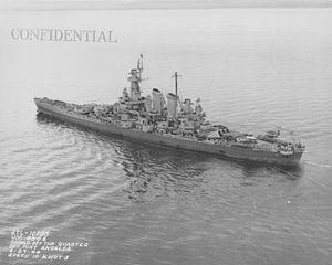USS Washington off Port Angeles NARA STL-10735.jpg