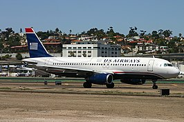 Een Airbus A320 van US Airways