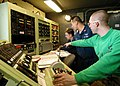 US Navy 040124-N-6278K-002 Aviation Machinist's Mates assigned to Aircraft Intermediate Maintenance Department's jet shop aboard USS George Washington (CVN 73) receive data.jpg