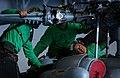 US Navy 040713-N-1573O-056 Aviation Structural Mechanic Karen Delacruz from Los Angeles, Calif., conducts propeller maintenance with two other SH-60F Seahawk shipmates from the Black Knights of Helicopter Anti-Submarine Squadro.jpg