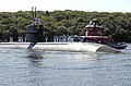 US Navy 080821-N-8467N-005 USS Dallas (SSN 700) transits the Thames River.jpg