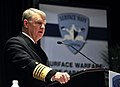 US Navy 090114-N-8273J-098 Chief of Naval Operations (CNO) Adm. Gary Roughead delivers remarks during the 21st annual Surface Navy Association (SNA) symposium.jpg