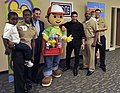 US Navy 090922-N-1232M-002 Actor Wilmer Valderrama, the voice of Handy Manny on a Disney animated children's show, visited with students at Training Support Center Great Lakes.jpg