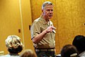 US Navy 100322-N-9818V-267 Assistant Commandant of the Marine Corps Gen. James Amos delivers remarks during the first Department of the Navy Sexual Assault Response Coordinator Summit.jpg