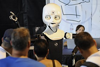 Evolutionary robotics - Octavia interactive robot of Navy Center for Applied Research In Artificial Intelligence