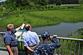 US Navy 100615-N-1688B-034 Don Shregardus is briefed on Environmental Restoration Site 8, Watchable Wildlife Area, at Joint Expeditionary Base Little Creek-Fort Story.jpg