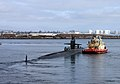 US Navy 101116-N-4047W-005 The Los Angeles-class attack submarine USS San Francisco (SSN 711) departs for its six-month western Pacific Ocean.jpg