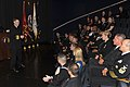 US Navy 110126-N-0555B-306 Vice Adm. Mark E. Ferguson III speaks with the 2010 Navy Recruiters of the Year at the Navy Memorial.jpg