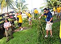 US Navy 110924-N-ET019-495 Sailors assigned to various commands in Guam participate in an international coastal cleanup community service project.jpg