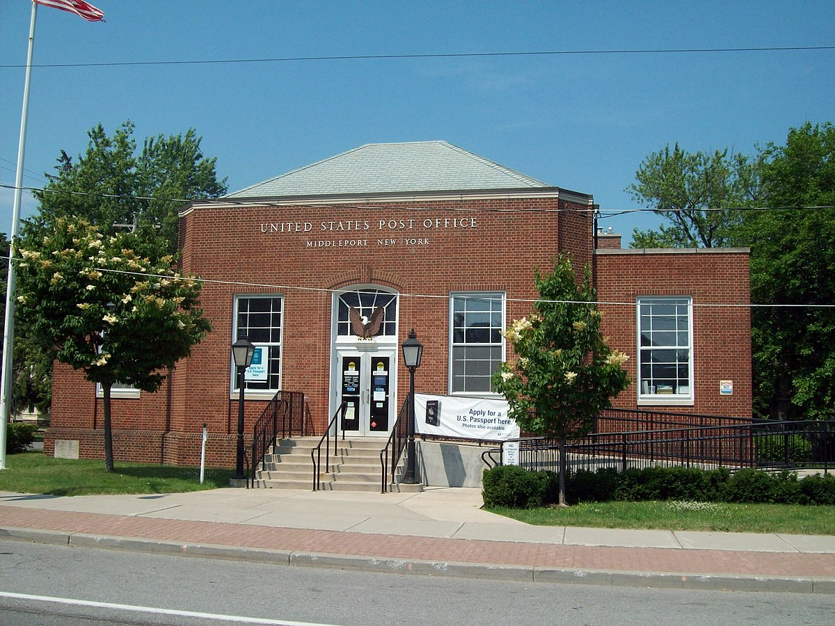 United states post office middleport new york wikipedia - Post office us post office ...