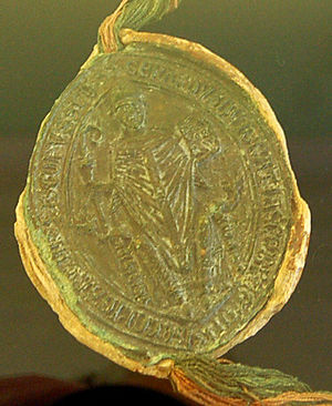 Gerhard II (archbishop of Bremen and Hamburg) - Gerhard II's seal of 1240