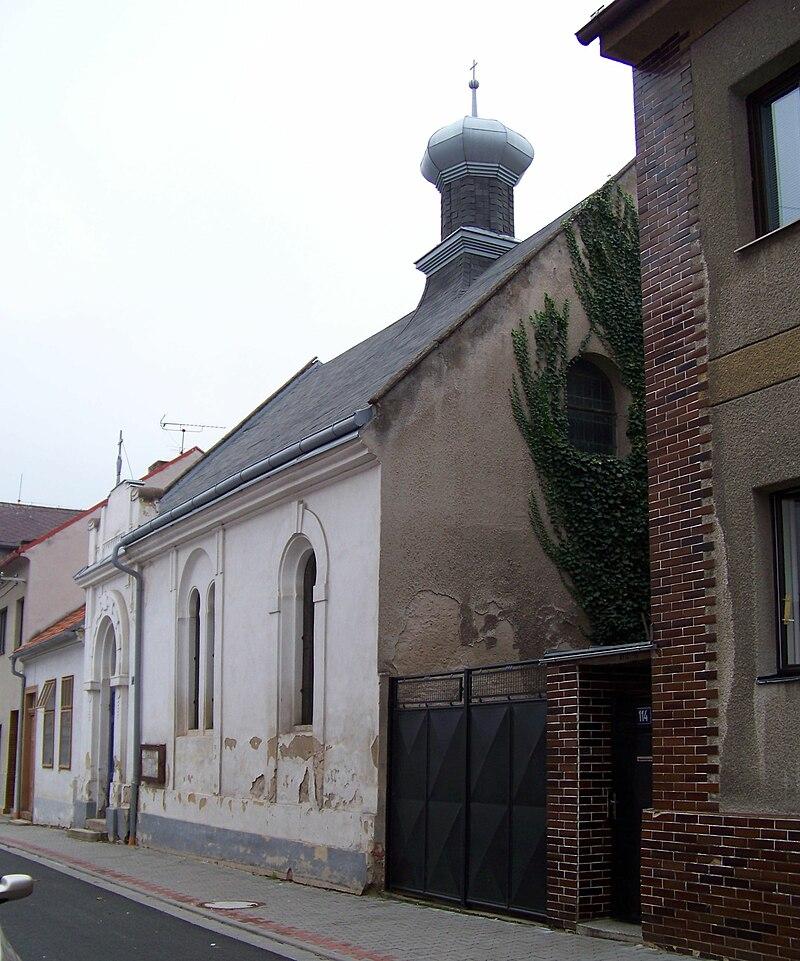 Uhlířské Janovice, Zdravotní ulice, synagoga.jpg