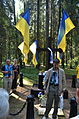 Ukrainian Delegation in Levashovo Memorial Cemetery 35.JPG