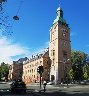 Oslo University Hospital, Ullevål Hospital in Oslo, Norway