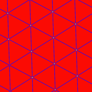 Order-6 hexagonal tiling honeycomb