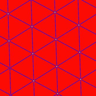 Grid cell - Grid cells derive their name from the fact that connecting the centers of their firing fields gives a triangular grid.