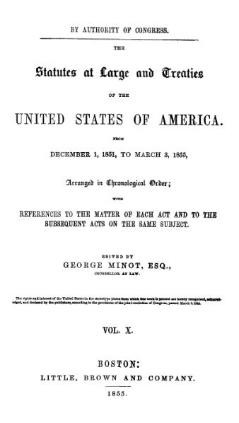 File:United States Statutes at Large Volume 10.djvu