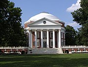 The University of Virginia, founded by Thomas Jefferson, is a UNESCO World Heritage Site.