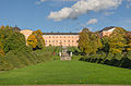 Uppsala slott sett från Botaniska trädgården oktober 2012.jpg