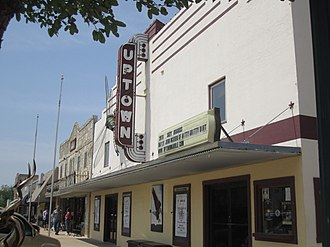 Marble Falls, Texas - Image: Uptown Theater, Marble Falls, TX IMG 1972