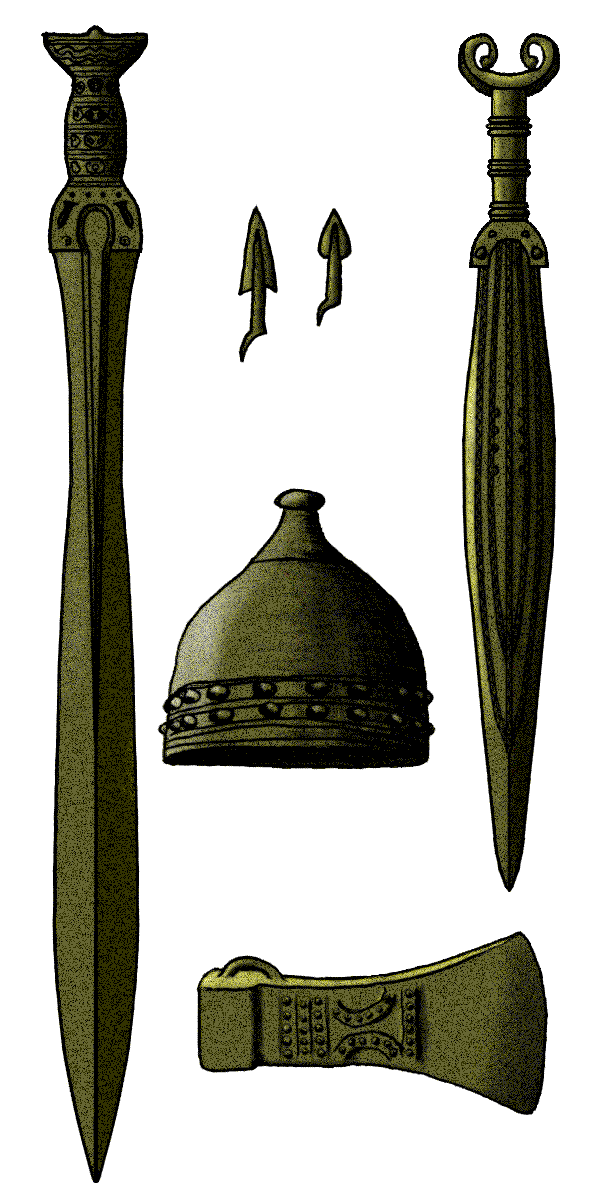 Urnenfelder panoply