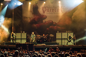 Bullet for My Valentine - Bullet for My Valentine performing at Ursynalia 2013 Festival, Warsaw, Poland.