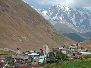 Feud - The defensive towers built by feuding clans of Svaneti, in the Caucasus mountains