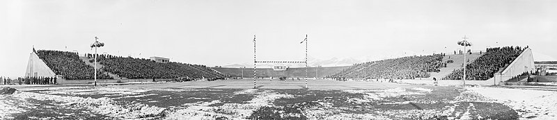 Stadium as photographed in 1929 when it was still known as ute stadium