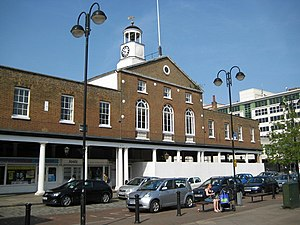 Uxbridge - Image: Uxbridge, The Market House geograph.org.uk 798869
