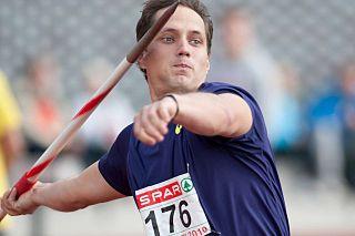 Vítězslav Veselý Czech Olympian and javelin thrower